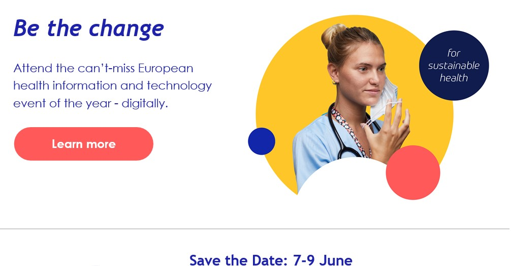 HIMSS Europe and Health 2-0 digital 7-9 June 2021